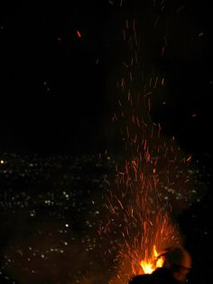 Every year, Gozan Okuribi/the Great Bonfire Event is held on August 16. photo by Makoto Ito