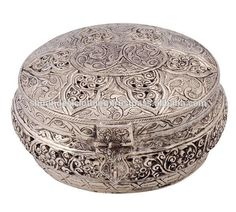 Source White Metal Multi Purpose Box For Supari Danns, Dry Fruit, Christmas Gift on m.alibaba.com Dry Fruit Box, Dried Fruit, Metal Jewelry, Jewelry Box, Diwali Gifts, Candle Stand, Metal Box, Metal Crafts, Flower Pots