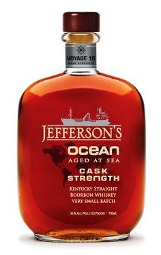 Jefferson's Ocean, Cask Strength – Jefferson's Bourbon - Aged at Sea