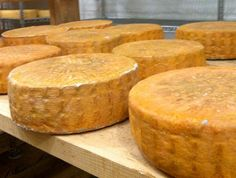 Owner & cheesemaker Sue Rubel from Nobscot Artisan Cheese in Framinham, MA, makes Eastleigh Fresh, a creamy, spreadable cheese; Herdsman Pless, a washed rind raw milk cheese and Wheyside, a washed rind cheese from pasteurized milk that's aged one month. http://www.nobscotcheese.com