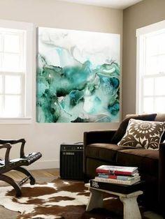 Mint Bubbles I Loft Art