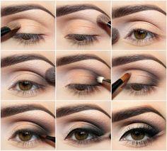 Step by step fpr brown eyes