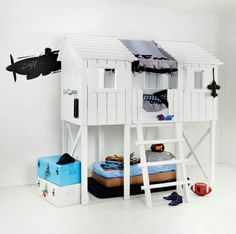The Red Baron's Air Traffic Control Barracks   lol