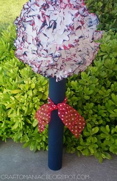 4th of July Firecracker Topiary