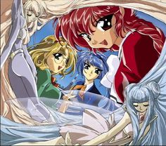 magic knight rayearth weapons - Buscar con Google