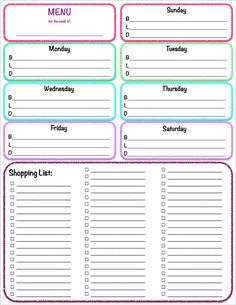 Get Your Free Planner! Make 2017 the year you get control of your life and schedule...for good.Goal-Setting, calendars, meal planners, daily & weekly planners, & more! Success! Now check your email for your freebie! There was an error submitting your subscription. Please try again. First Name Email Address We use this field to detect spam...