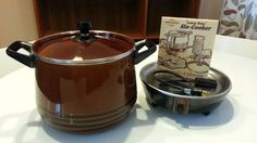 For those lazy days (we all have them!) West Bend Lazy Day Slow Cooker 5225 Brown by AtomicVault on Etsy, $20.00