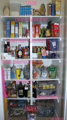 Pantry Organization - Tips and tricks by @Ashley Walters @ Fancy Ashley #organization #home