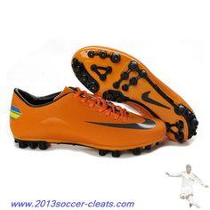 Cheap Nike - Jnr Mercurial Victory III AG Orange Black For Wholesale Cheap  Soccer Shoes 83999045d2