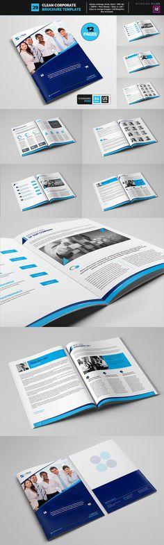 Clean Corporate Brochure Template 29