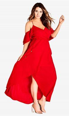 aee921f3247a8 Miss Jessica Maxi Dress - scarlet. Plus Size ...