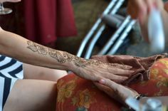 ASHFoundation fundraiser 2014. Henna tattoo.