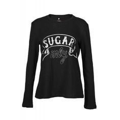 SUGAR ONLY Printed Tee Sugar, Printed, Tees, Fall, Long Sleeve, Sleeves, Mens Tops, T Shirt, Shopping