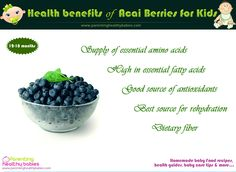 Health Benefits of Acai Berries for Kids - ParentingHealthyBabies.com