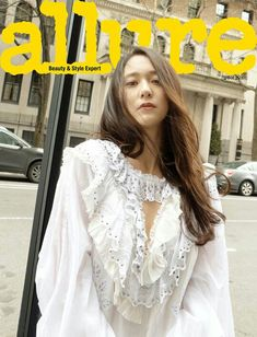Krystal Jung Heads to the 'Big Apple' and Meets Up with 'Allure' Magazine Kpop Girl Groups, Korean Girl Groups, Kpop Girls, Krystal Jung Fashion, Krystal Jung Style, Girls' Generation Taeyeon, Jessica & Krystal, Sulli, Korean Fashion