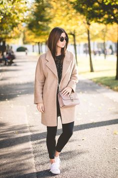 OUTFIT: the perfect camel coat | Bikinis & Passports