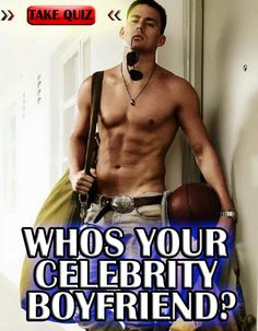 Who do you think your celebrity boyfriend is? Take the quiz to find out! Share and comment your results!
