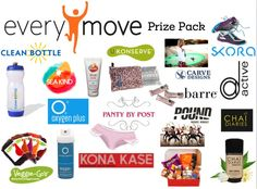 Enter for a chance to win the EveryMove Prize Pack (13 items) by 7/24/14! #giveaway