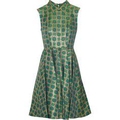 KENZO : KENZO Medallion brocade dress