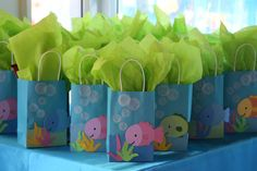 Under the Sea Birthday Party Ideas | Photo 4 of 21 | Catch My Party