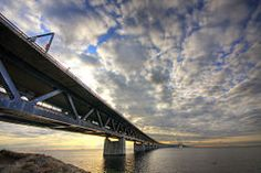 experience: Take a train over the Oresund Bridge, between Malmo and Copenhagen! Capital Of Denmark, Europe Train Travel, Travelling Europe, Abandoned Train Station, Copenhagen Travel, Copenhagen Denmark, By Train, Malm, Photo Essay