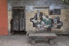 Tinnura   Tinnura. conosciuto per i suoi famosi murales.   pellegrino2014   Flickr