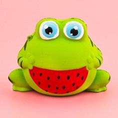 Happy Melon Frog Squishy