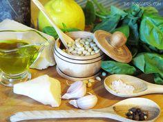 соус песто с базиликом и кедровыми орешками, как готовить, ингредиенты