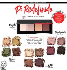 Tudo sobre a nova linha de maquiagens SHISEIDO! - Daniele Honorato Sephora, Eyeshadows, Nova, Cosmetics, Beauty, Color Inspiration, Eye Liner, Make Up Looks, Line