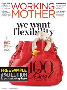 Working Mother Magazine-cover