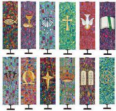 church symbols banners