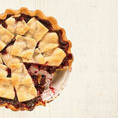 anjou bakery's marionberry pie. love this bakery so i was excited to try the recipe. made this yesterday with our berry-picking loot. the shortbread crust was yummy and a fun change from my usual crust. the crust topping is so pretty, too!