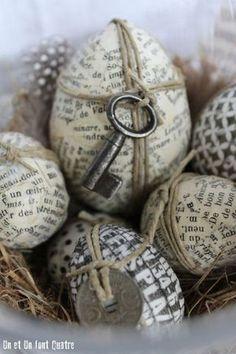 Verzierung Ostern Dekorationseier DIY IDEEN homedecor homedesign home Egg Crafts, Easter Crafts, Decor Crafts, Diy And Crafts, Crafts For Kids, Happy Easter, Easter Bunny, Easter Eggs, Diy Ostern