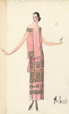 M a L o u t e by Maison Bernard, 1923, Unknown artist, Bernard et C.ie, Paris.