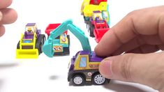 निर्माण वाहन खिलौना unboxing - खुदाई, डंप ट्रक, मिट्टी कम्पेक्टर, फोर्कल... Mixer Truck, Construction, Dump Truck, Trucks, Make It Yourself, Toys, Vehicle, Puzzle, Children