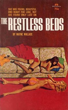 Sleeping on a couch or even on the floor was better than in a restless bed.