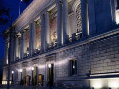 """Asian Art Museum of San Francisco -- Built in 1917, and formerly the old library building, this building is a fantastic blend of """"Beaux Arts"""" and modern design elements."""