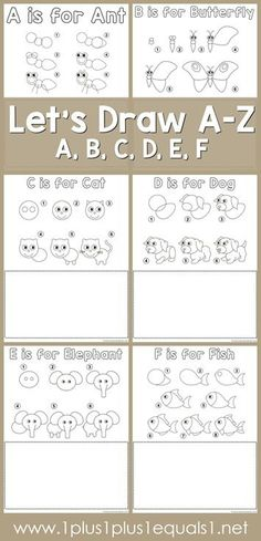 FREE Let's Draw Printables   Homeschool Giveaways