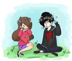 yay for flower crowns by mysterytaco.deviantart.com on @deviantART