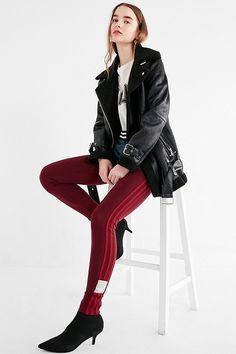 c5fc878927545 Slide View: 1: adidas Originals Adibreak 3 Stripes Legging Striped  Leggings, Women's Leggings