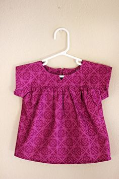 Oliver + S Ice Cream Dress. I love Oliver +S patterns!