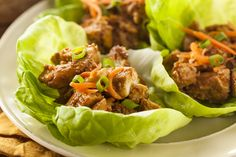 Lettuce Wraps: Asian Chicken with a Twist