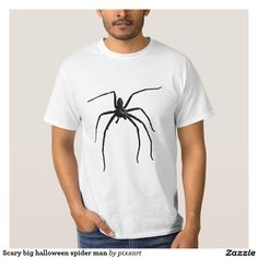 Scary big halloween spider man T-Shirt