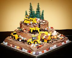 construction birthday cakes | Construction Birthday Cakes