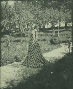 Gustav Klimt b. 1862, Baumgarten  d. 1918, Vienna Emilie Flöge wearing a reform dress 1906