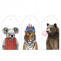 6x Jamie Mitchell Gift Tags at http://www.ohhdeer.com