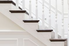 Stair   Traditional Stair   American Oak   Bullnose   Classic Design   Interiors   Floorboards   Stairwell   Timber Balustrade   Handrail   Balusters