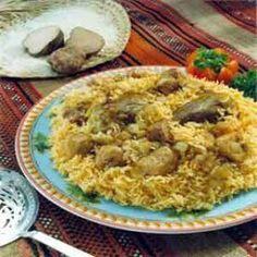 Arabic Food Recipes: Kabsa
