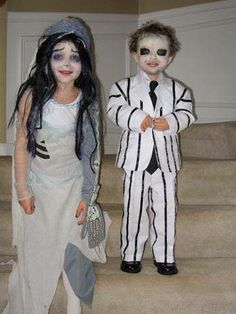 Beetlejuice & His Bride - Scary Costumes