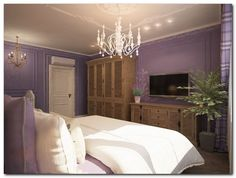 стиль прованс в интерьере спальни
